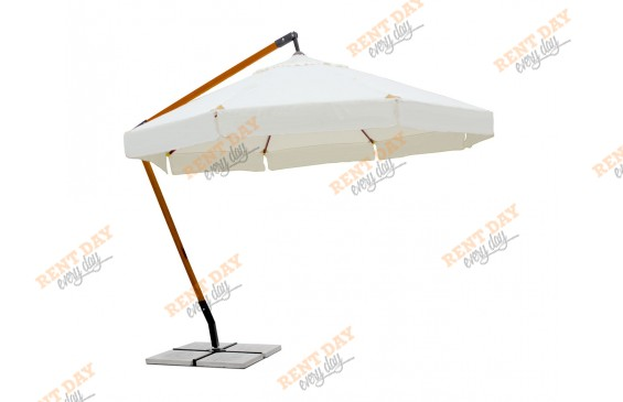 Зонт большой уличный  в аренду