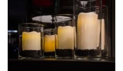 Набор из трех LED свечей