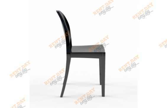 Черный стул Ghost