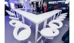 Барный стул Мира белый
