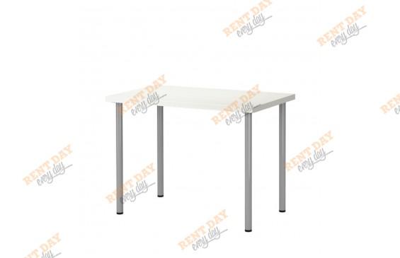 Стол белый прямоугольный