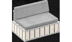 Модульное кресло БОКС 120х80