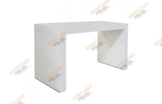Длинный белый стол в аренду