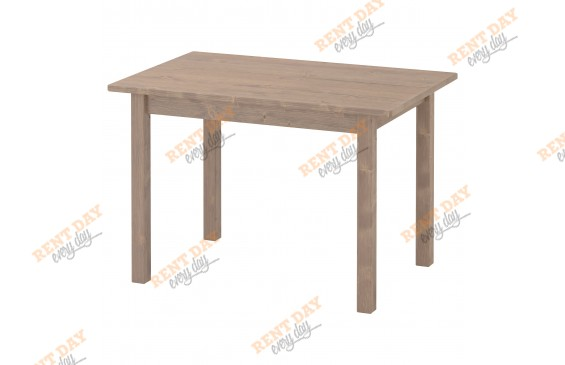 Детский коричневый столик