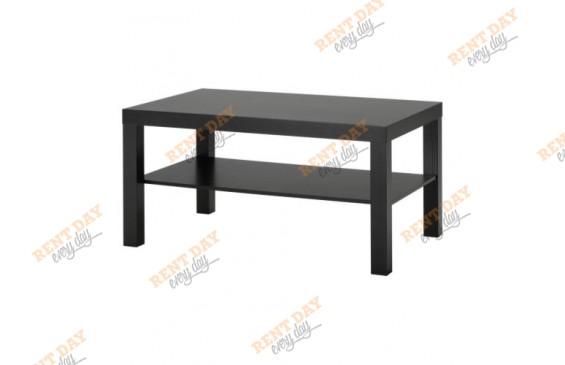 Журнальный столик черный в аренду