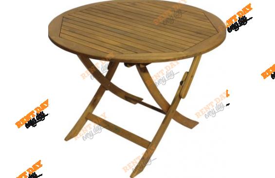 Деревянный садовый стол  в аренду