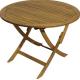Деревянный садовый стол