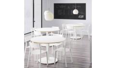 Белый круглый стол