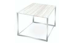 Квадратный уличный стол WHITE CUBE