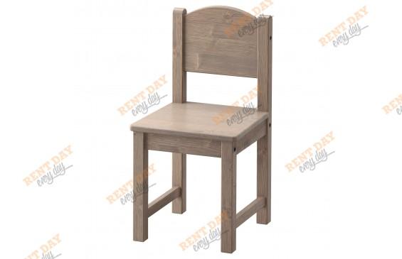 Детский коричневый стульчик