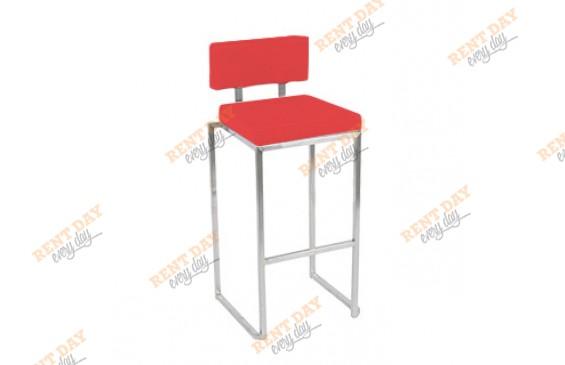 Мягкий барный стул  GOAL RED в аренду