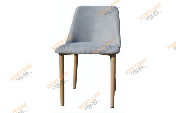 Wood textile gray
