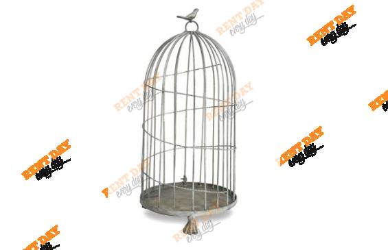 Клетка с птичкой
