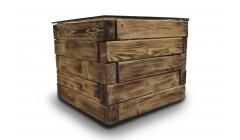 Стол деревянный куб