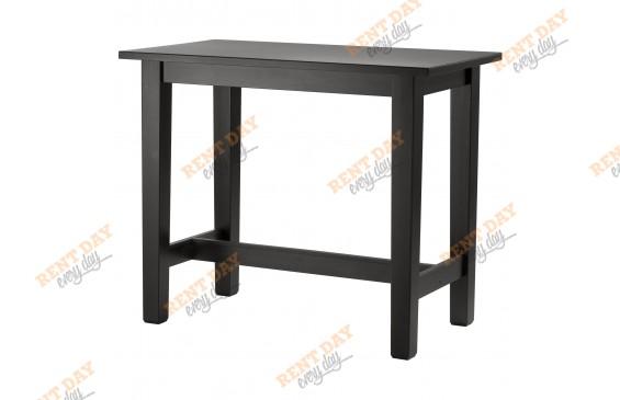 Темно-коричневый барный стол в аренду