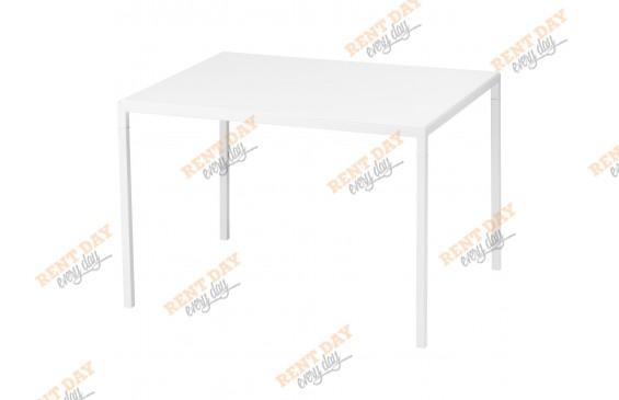 "Белый журнальный стол ""Квадро"""