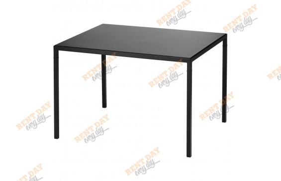 """Черный журнальный стол """"Квадро"""" в аренду"""