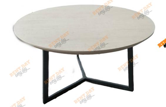 Круглый обеденный стол в аренду