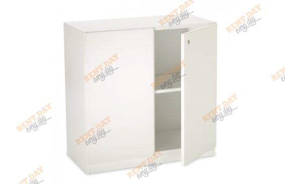Белый шкафчик в аренду