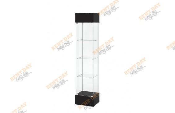 Аренда стеклянной витрины для выставок