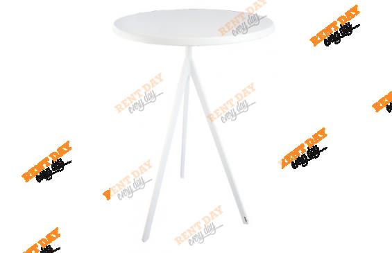 WHITE TRIANGLE / Дизайнерский барный стол в аренду