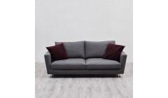 Текстильный серый диван