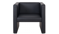 Компактное черное кресло