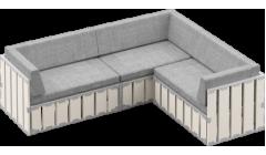 Модульный диван БОКС 240х80