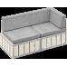 Модульный диван БОКС 160х80 в аренду