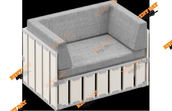 Модульное кресло БОКС 120х80 в аренду