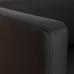 Компактный черный диван в аренду