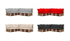 Угловой диван из паллет