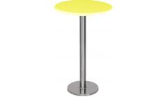 Стол коктейльный Basic желтый