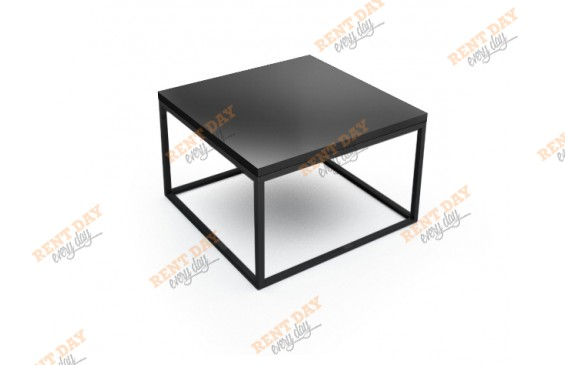 Шахматы журнальный стол черный в аренду