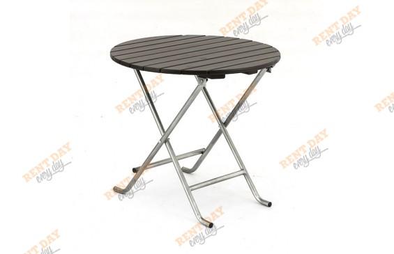 Складной стол венге уличный в аренду