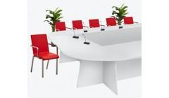 Белый модульный стол