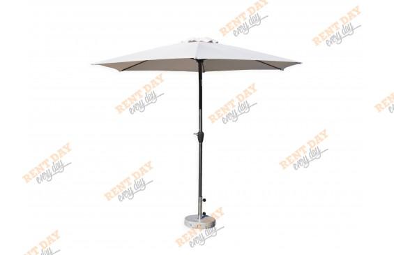 Зонт с центральной черной опорой