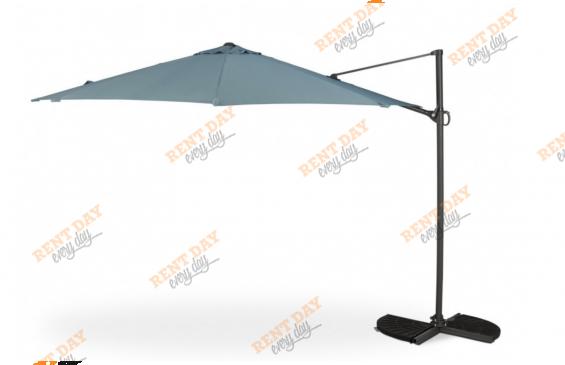 Зонт с серым куполом