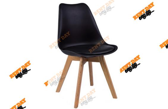 Черный дизайнерский стул в аренду