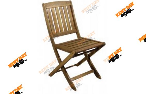 Складной садовый стул в аренду