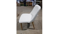 Wood textile white