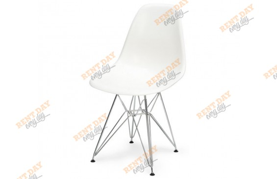Стул METALL EAMES WHITE в аренду