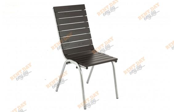Уличный стул венге  в аренду