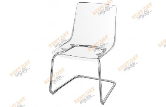 Прозрачный стул Тобиас в аренду